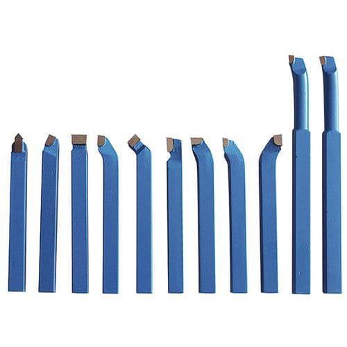 Soustružnické nože pro všechny typy soustruhů, 10 mm, sada - 11