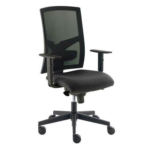 Kancelářská židle Asistent, černá