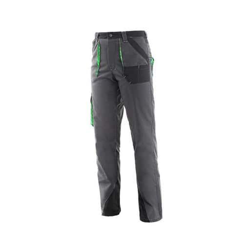 Kalhoty do pasu CXS SIRIUS AISHA, dámské, šedo-zelené, vel. 42