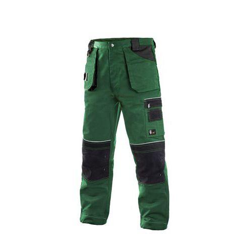 Pánské kalhoty ORION TEODOR, zeleno-černé, vel. 62