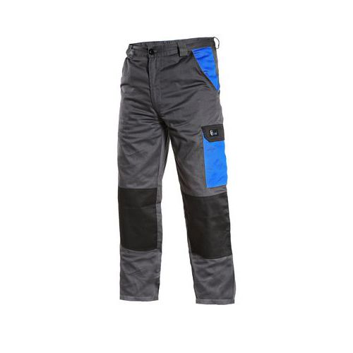 CXS PHOENIX CEFEUS kalhoty do pasu šedo-modré