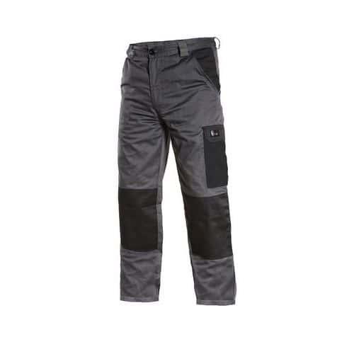 Canis Pánské kalhoty PHOENIX CEFEUS, šedo-černé, vel. 48