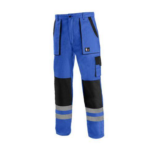 Kalhoty CXS LUXY BRIGHT, pánské, modro-černé, vel. 62