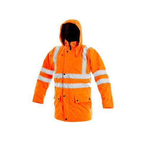 Pánská reflexní bunda OXFORD, 5v1, oranžová, vel. S