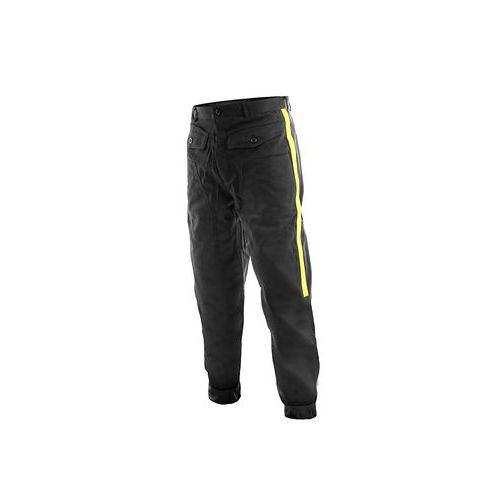 Pánské fárací kalhoty TECHNIK, se žlutými pruhy, černé, vel. 62