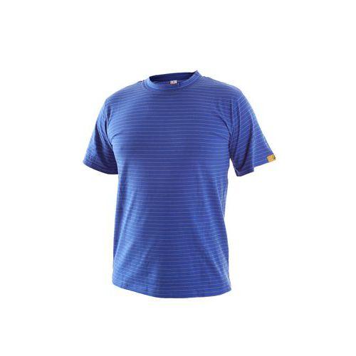 Antistatické tričko ESD, středně modré, vel. 2XL