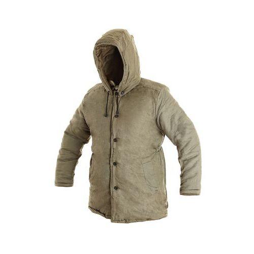 Pánský zimní kabát JUTOS, khaki, vel. 58