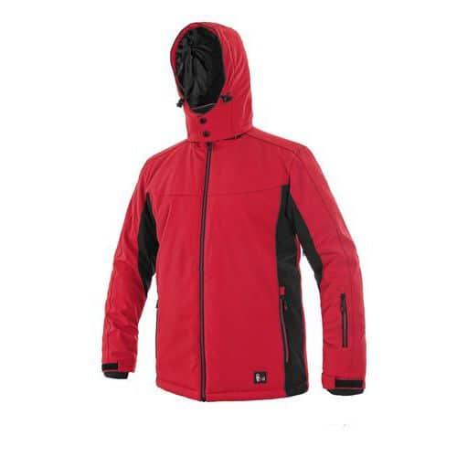 Bunda VEGAS, zimní, pánská, červeno-černá, vel. 4XL