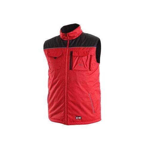 Pánská zimní vesta SEATTLE, červeno-černá, vel. XL