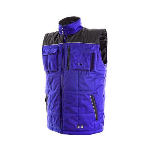 Pánská zimní vesta SEATTLE, modro-černá, vel. XL