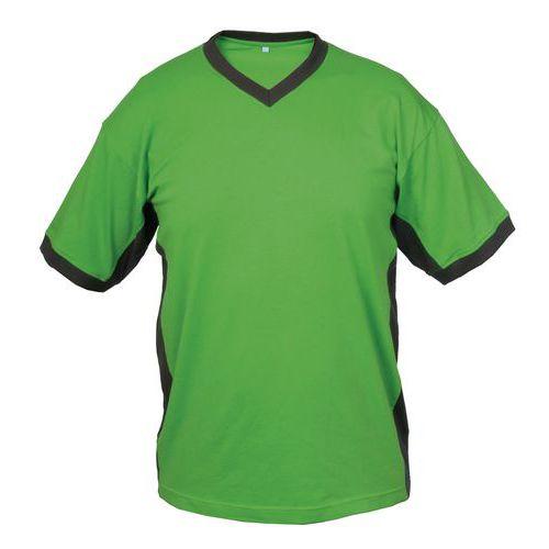 Pánské tričko s krátkým rukávem SIRIUS THERON, zeleno-šedé, vel. M