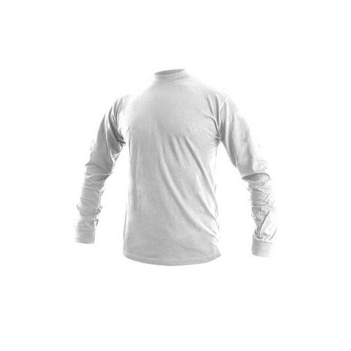 Pánské tričko s dlouhým rukávem CXS, bílé, vel. S