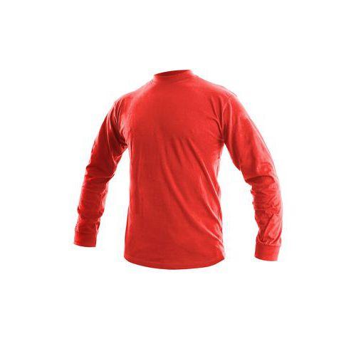 Trička dlouhý rukáv Tričko PETR, dlouhý rukáv, červené