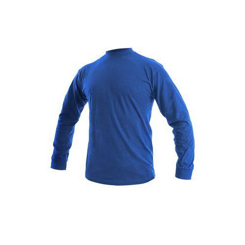 Tričko  PETR, dlouhý rukáv, středně modré
