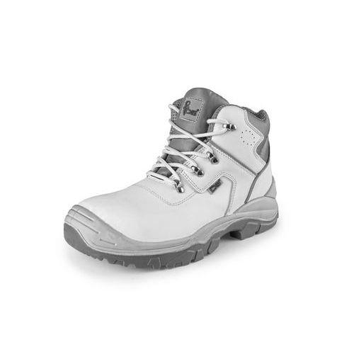 Kotníková obuv s ocelovou špicí OAK S2, bílá, vel. 39