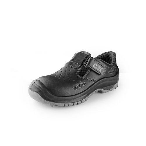 Sandál s ocelovou špicí SAFETY STEEL IRON S1