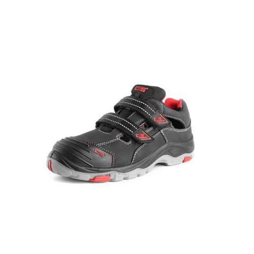 Obuv sandál ROCK SYENIT S1, černý