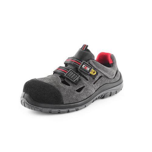 Sandál s plastovou špicí ROCK GALLITE S1P