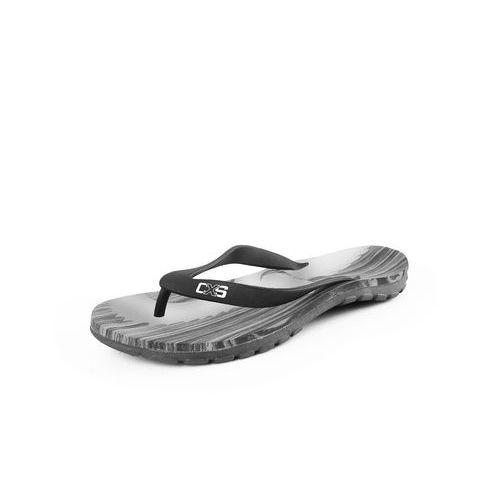 Žabky BEACH, černo-šedé