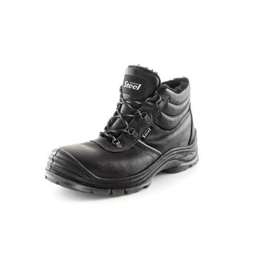 Zimní kotníková obuv s ocelovou špicí SAFETY STEEL NICKEL S3, ve