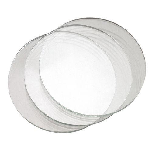 Sklo do svářečských brýlí, čiré, průměr 50 mm