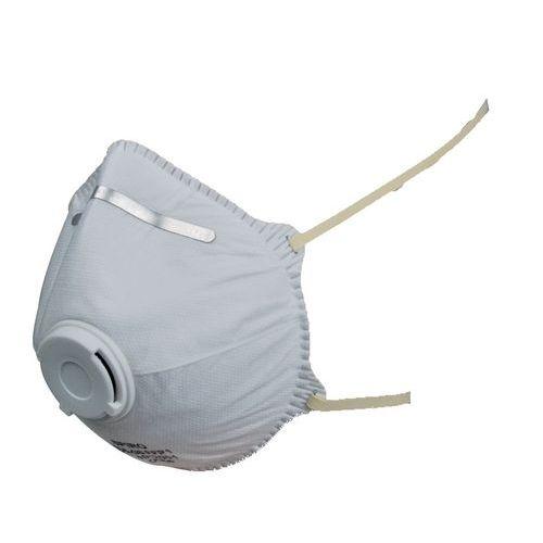 Filtrační polomaska SPIRO P1, tvarovaná, výdechový ventilek