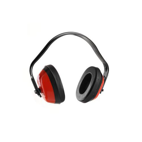 Mušlové chrániče sluchu EP101, červené