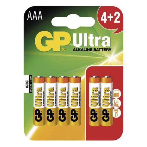 Baterie GP Ultra Alkaline AAA 6ks