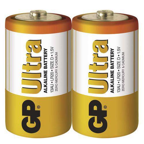 Baterie GP Ultra Alkaline D 2ks