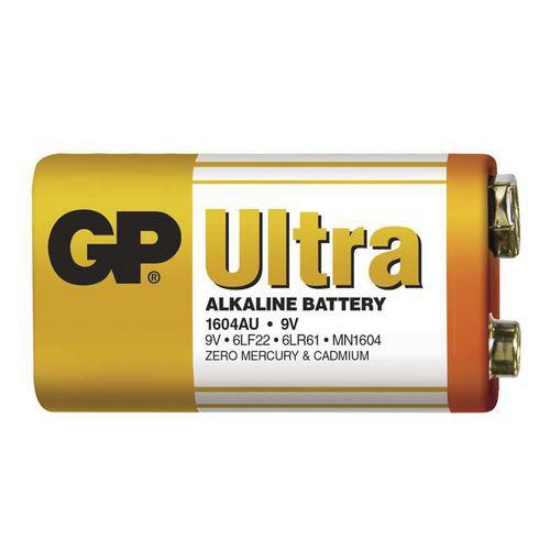 GP Ultra Alkaline 9V 1ks 1014501000