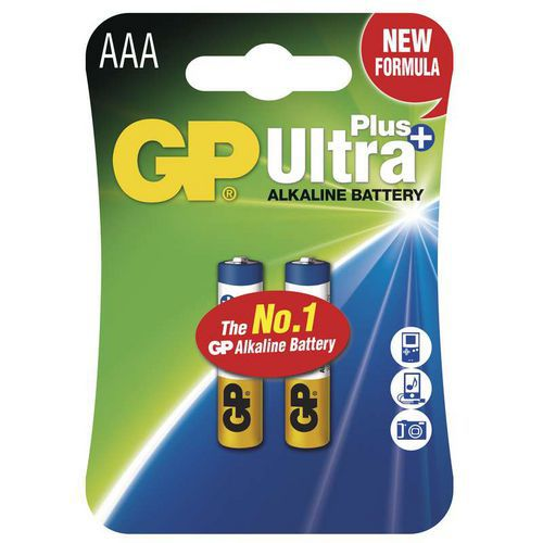 GP Ultra Plus AAA 2ks 1017112000