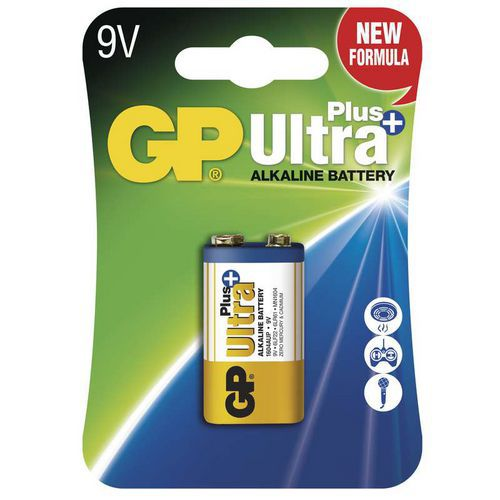 Baterie GP Ultra Plus 9V 1ks
