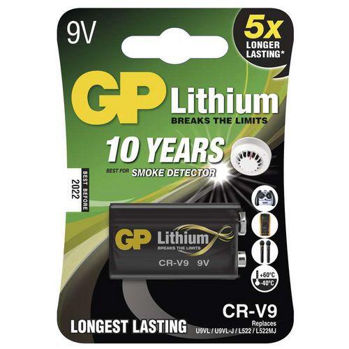 Baterie GP CR-V9 1ks