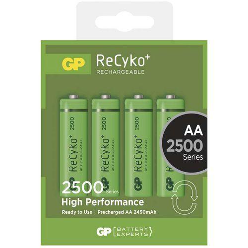 Nabíjecí baterie GP ReCyko plus 2500 HR6 (AA), krabička