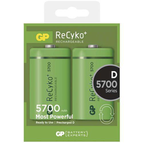 Nabíjecí baterie GP ReCyko plus HR20 (D), krabička
