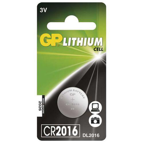 Baterie GP CR 2016 1ks