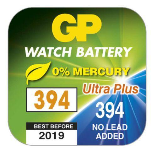Knoflíková baterie do hodinek GP 394F, krabička