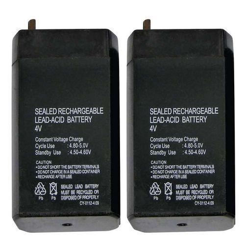 Bezúdržbový olověný akumulátor 4 V/0,7 AH