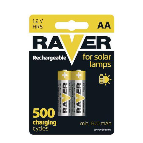 Nabíjecí baterie RAVER HR6 (AA), blistr