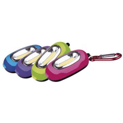 LED svítilna plastová, 1x COB LED, na 2x AAA, 12ks
