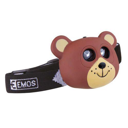 LED čelovka - medvěd