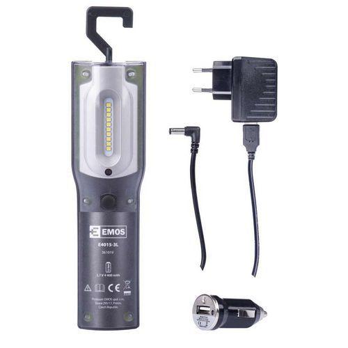 Nabíjecí svítilna LED P4522, 5W SMD plus UV LED