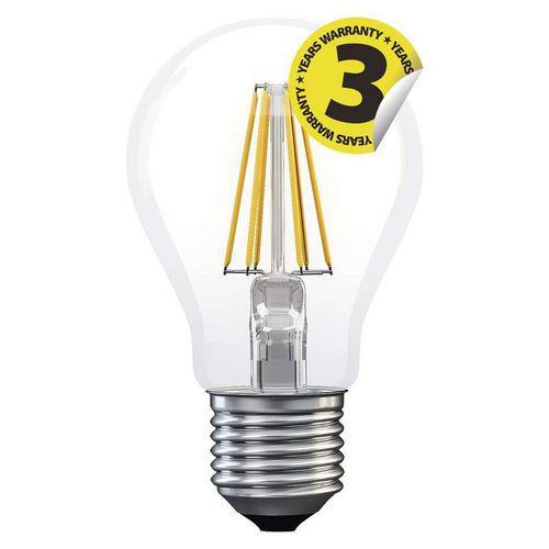Emos LED žárovka Filament A60 A++ 6W E27 neutrální bílá