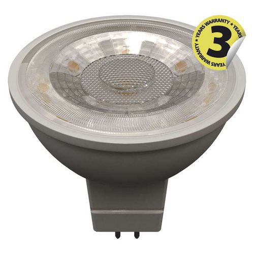 LED žárovka Premium MR16 36° 7W GU5,3 teplá bílá