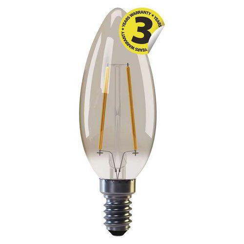 LED žárovka Vintage Candle 2W E14 teplá bílá plus