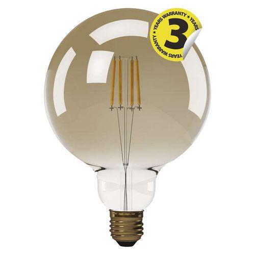 Emos LED žárovka Globe G125, 4W/34W E27, WW+ teplá bílá+, 380 lm, Filament Vintage A++