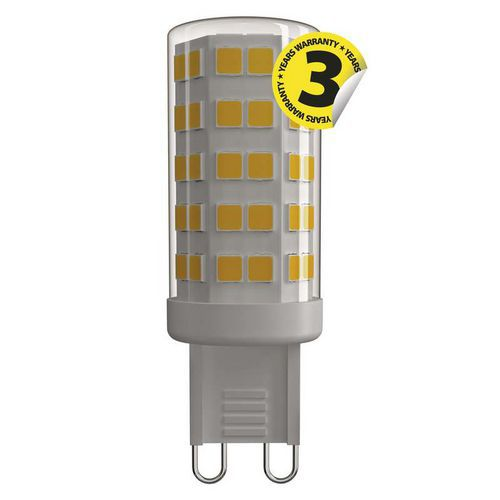 LED žárovka Classic JC A plus plus 4,5W G9 teplá bílá