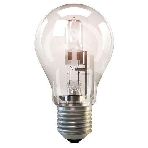 Halogenová žárovka ECO A55 53W E27 teplá bílá, stmívatelná