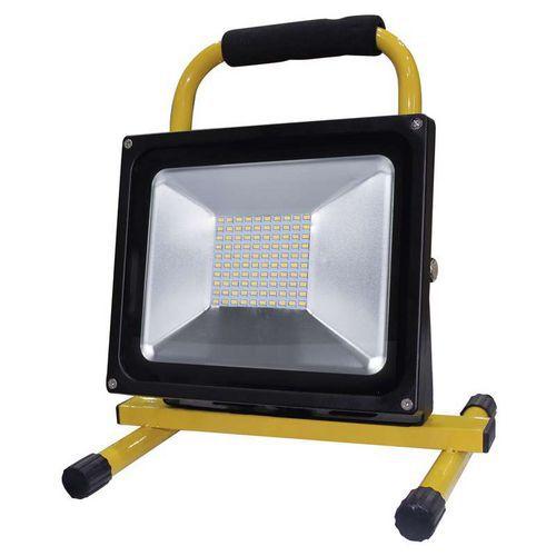 LED reflektor přenosný, 50W neutrální bílá