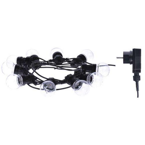 LED řetěz - párty žárovky, 5m, IP44, multicolor